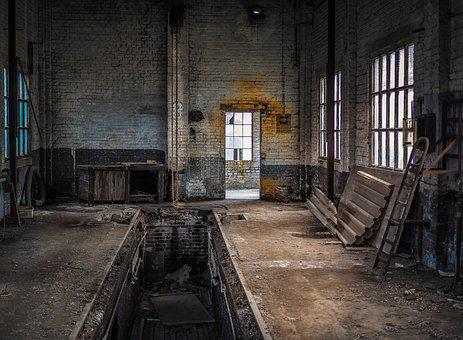 Lost Places, Factory Building, Industry