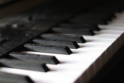 Piano, Keys, Old, Dusty, Keyboard, Instrument, Musician
