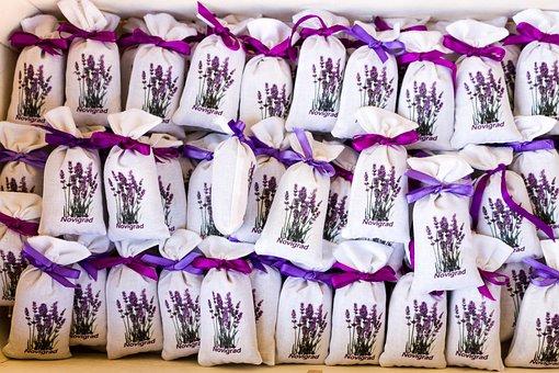 Lavender, Bag, Lavender Bag, Smell, Sachet, Souvenir