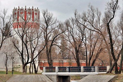 Moscow, Park, Novodevichy, Landscape
