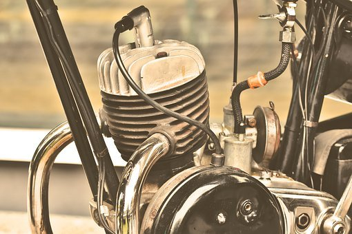 Motor, Motorcycle Engine, Oldtimer, Single Cylinder
