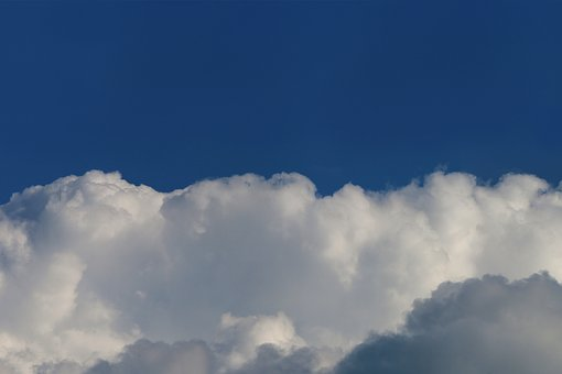 Clouds, Sky, Weather, Nature, Heaven, Blue, Air