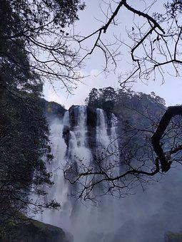 Bomburuella, Waterfall, Nature, St, Water, Landscape
