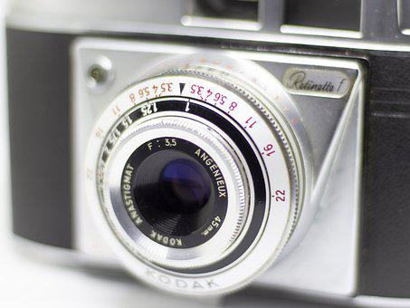 Photo Camera, Kodak, Photography, Retro, Photographer