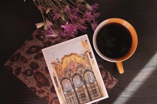 Coffe, Postcard, Cup Of Coffee