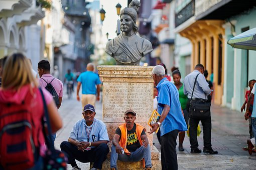 Dominican Republic, Zona Colonial, Relax, Sad