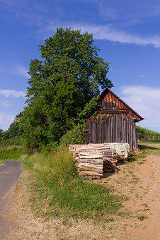 Old, Hut, House, Building, Rural, Nature, Wood, Barn