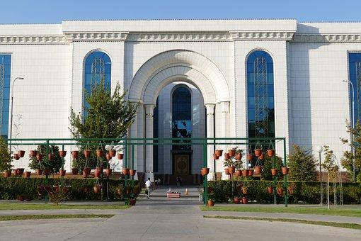 Tashkent, Uzbekistan, Central Asia, Silk Road, Library