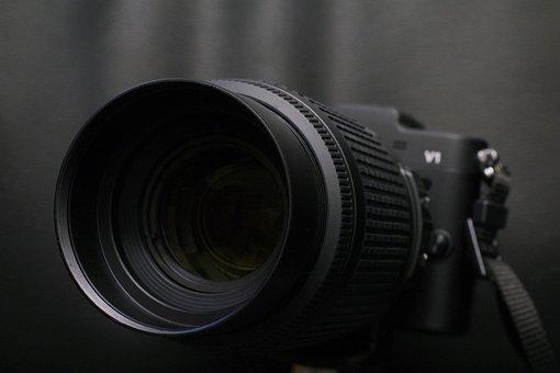 Camera, Nikon, Dslr, Slr, Black