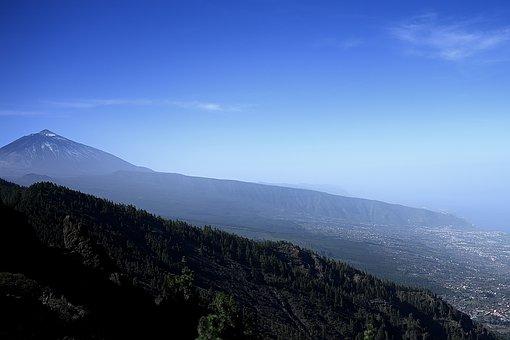Teide, Volcano, Tenerife, National Park, Landscape