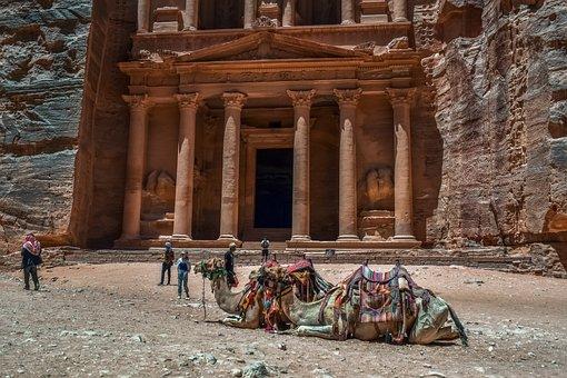 Petra, Jordan, Treasury, Ancient