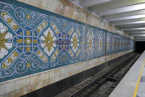 Tashkent, Uzbekistan, Central Asia, Silk Road, Ubahn