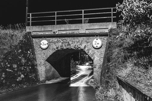 Leżajsk, The Viaduct, Tracks, Way, Railway, Bridge