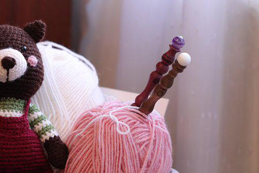 Crochet, Knitting, Knitted, Wool, Knit, Yarn, Handmade