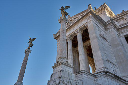 Victor Emmanuel Ii Monument, Italy, Rome, Architecture