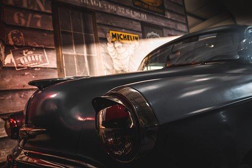 Old, Car, Vintage, Automobile, Building, Auto, Vehicle