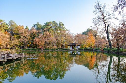 Suzhou, Autumn, Tin Ping Shan, Tianping Mountain, China