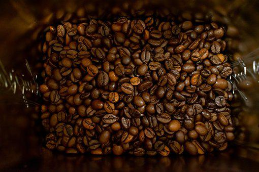 Coffee Beans, Structure, Background, Coffee, Beans