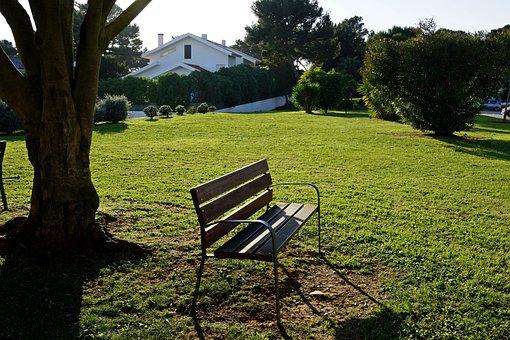Bank, Garden Bench, Wooden Bench, Garden, Chair, Seat