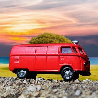 Vw Bus, Model Car, Bus, Bulli, Camper, Transporter