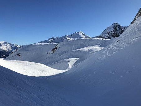 View From Pizzo Columbe, Campanitt, Alpine Route, Alps