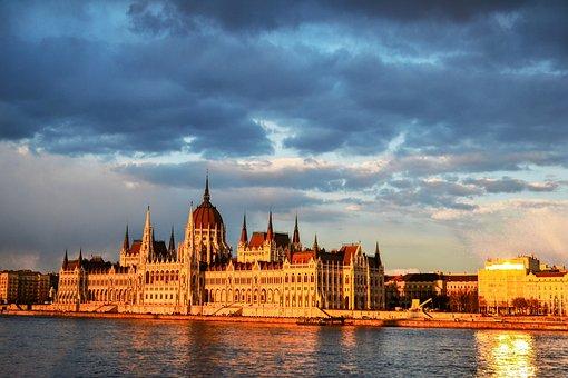 Hungary, Budapest, Parliament, Architecture, City