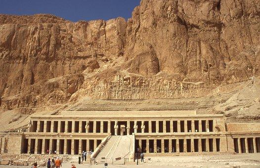 Egypt, Dayr Al-Baḥrī, Deir El-Bahri