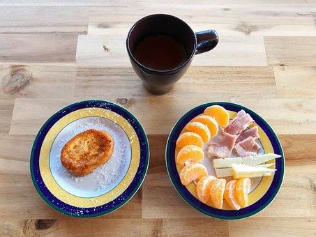 French Toast, Breakfast, Milk, Egg, Dessert, Delicious