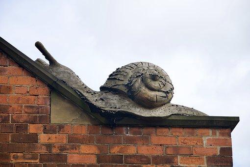 Snail, Escargot, Sculpture, Monument, Slug