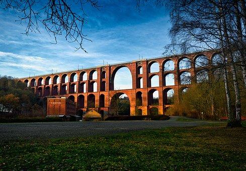 Architecture, Germany, Göltzschtalbrücke, Viaduct