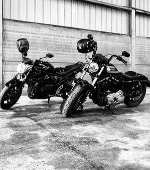 Motorcycle, Motorcycles, Engine, Harley, Vehicle, Biker