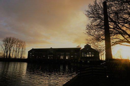 Sky, Mystical, Sun, Museum, Industrial Heritage, Sunset