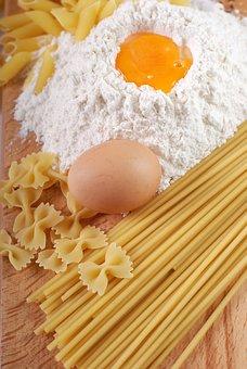 Pasta, Egg, Food, Kitchen, Flour, Fresh, Delicious