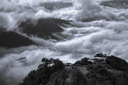 Sea Of Clouds, Clouds, Mountain, Countryside, Luzon