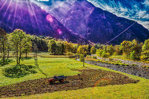 Gressoney, Mountain, Mountains, Italy, Landscape