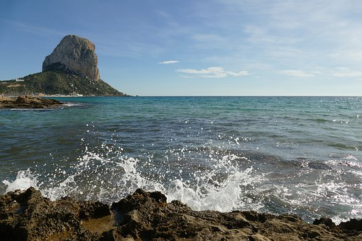 Rock, Mountain, Nature, Park, Penon De Ifach, Calp