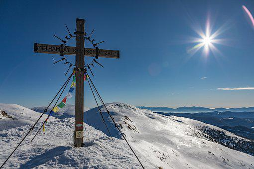 Mountain, Snow, Summit, Pushed The Bolt, Carinthia