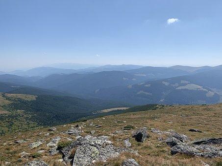 Panorama, Romania, Carpathian Mountains, Mountains