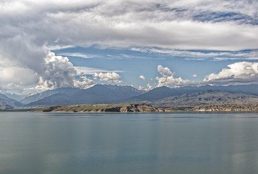 Kyrgyzstan, Toktogul Dam, Dam, Naryn, River, Water