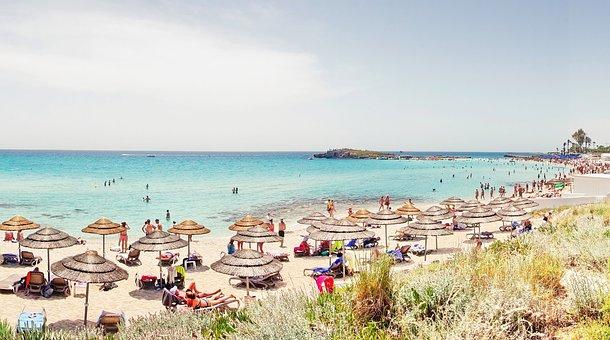 Cyprus, Mediterranean, Beach, Landscape, Sea, Nature