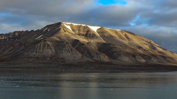Spitsbergen, Scandinavia, North, Glacier, Sea