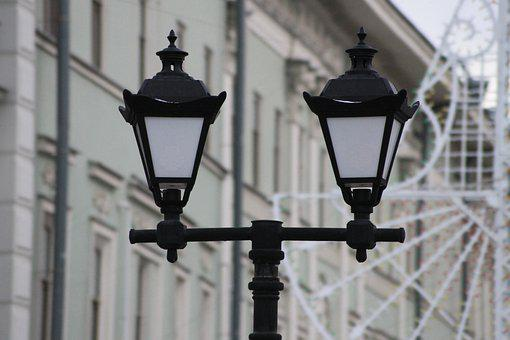 Lantern, Street, Lighting, Kazan, Russia, City, Light