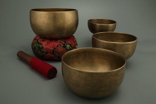 Antique Singing Bowls, Meditation, Singing Bowls, Sound