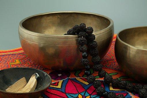 Rudraksha, Small, Singing Bowls, Palo Santa, Incense