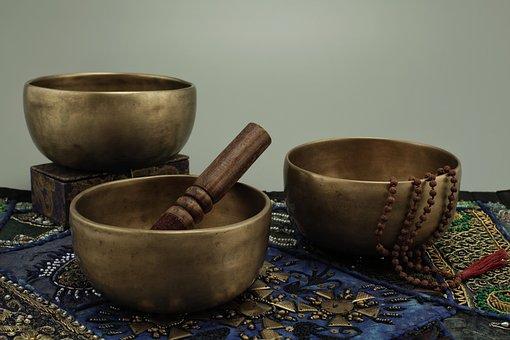 Rudraksha, Small, Singing Bowls, Antique Singing Bowls