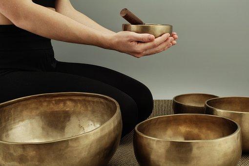 Singing Bowls, Meditation, Sound, Tibet, Spiritual