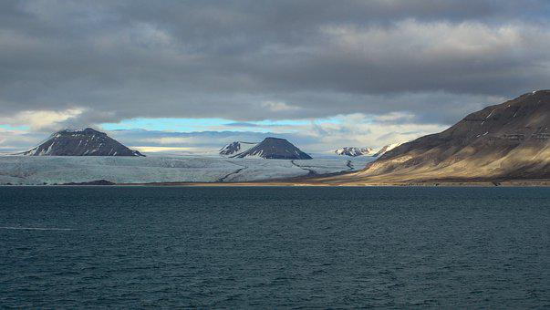 Spitsbergen, Scandinavia, Glacier, North, Sea, Pyramids