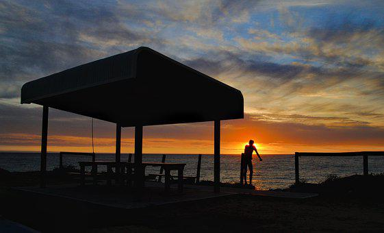 Sunset, Geographe Bay, Bunbury, Western Australia, Sky