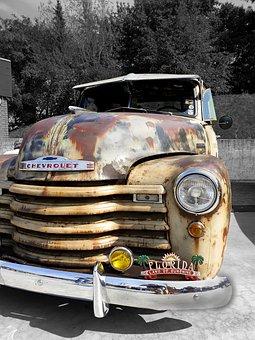 Chevy, Us Car, Car, American, Classic