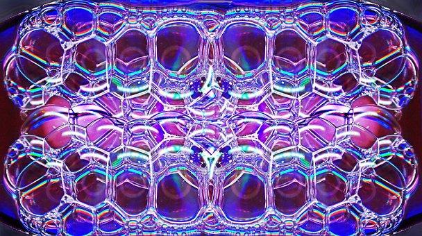 Bubbles, Soap, Water, Colorful, Pattern, Design